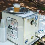 夏はビールサーバーで乾杯♪