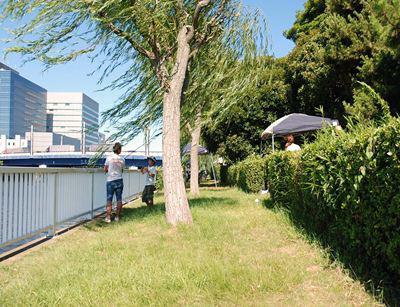バーベキューレンタル ゴードン こてつブログ-新木場ふ頭公園 バーベキュー