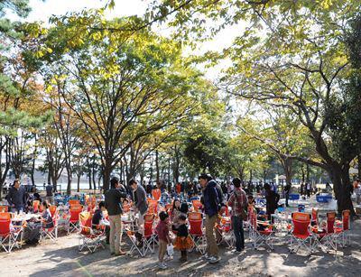 バーベキューレンタル ゴードン こてつブログ-野島公園 バーベキューケータリング