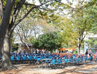 バーベキューレンタル ゴードン こてつブログ-野島公園 バーベキューデリバリー