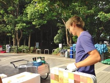 新木場ふ頭公園 バーベキューレンタル